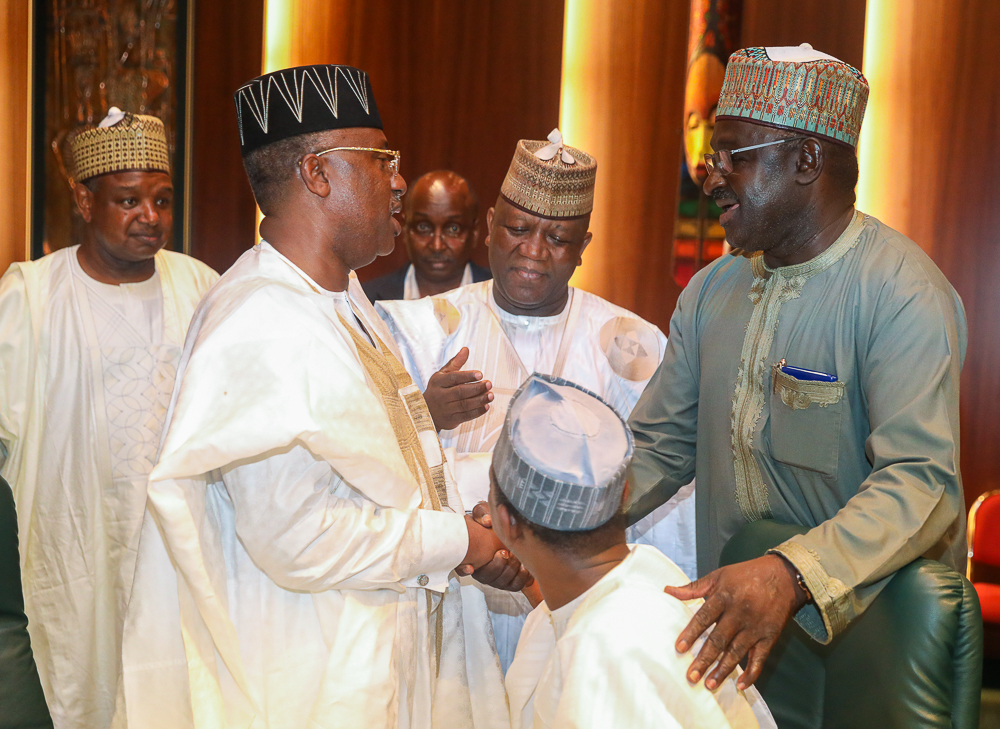 5. APC Gov's Meeting with the President by NOVO ISIORO