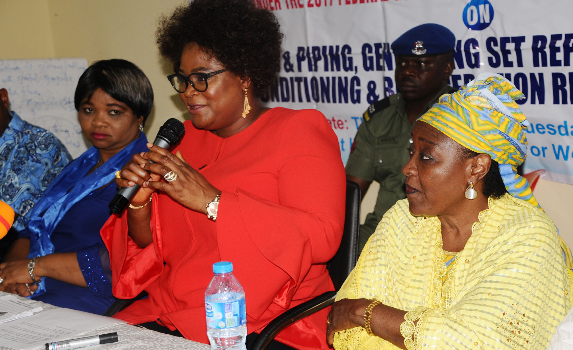 Pic.21. NCWD inaugurates Residential Capacity Building Programme for Female Artisans in Abuja
