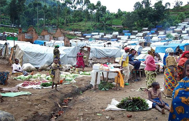 Guma IDPs camp 5